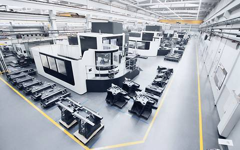 EXTENDED MACHINING DEPARTMENT