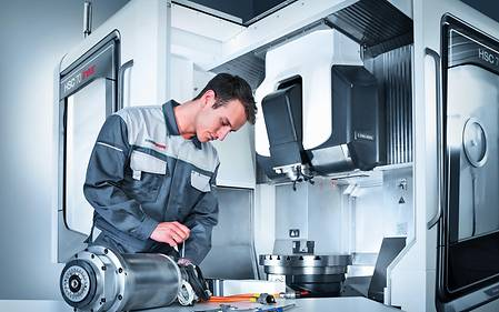 DMG MORI Spindle service – Professional skills from the manufacturer for maximum reliability
